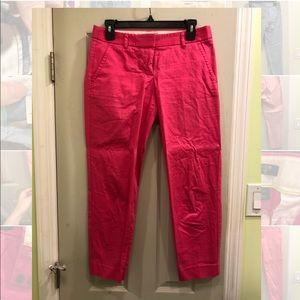 JCREW City Fit Cropped Ankle Pants Size 2
